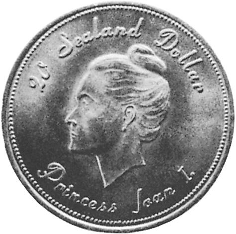 Sealand 20 Dollars reverse