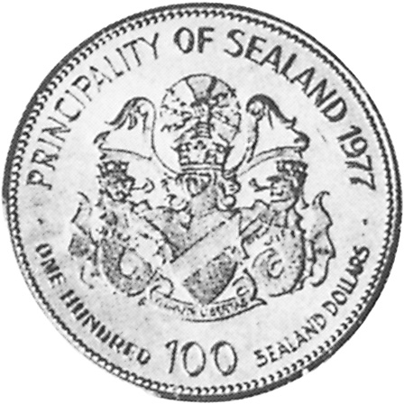 Sealand 100 Dollars X 5 Prices & Values | NGC