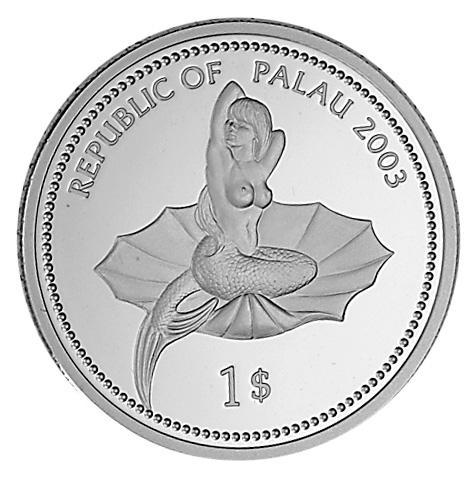 Palau Dollar obverse