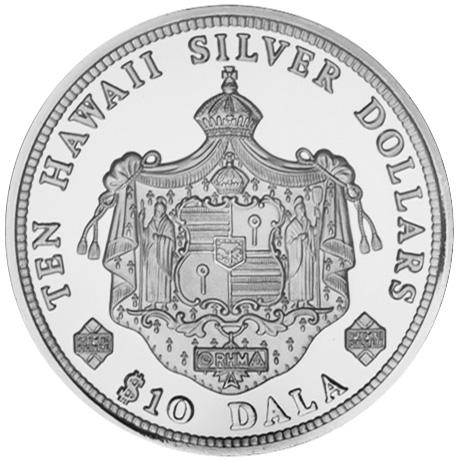 Hawaii 10 Dala reverse