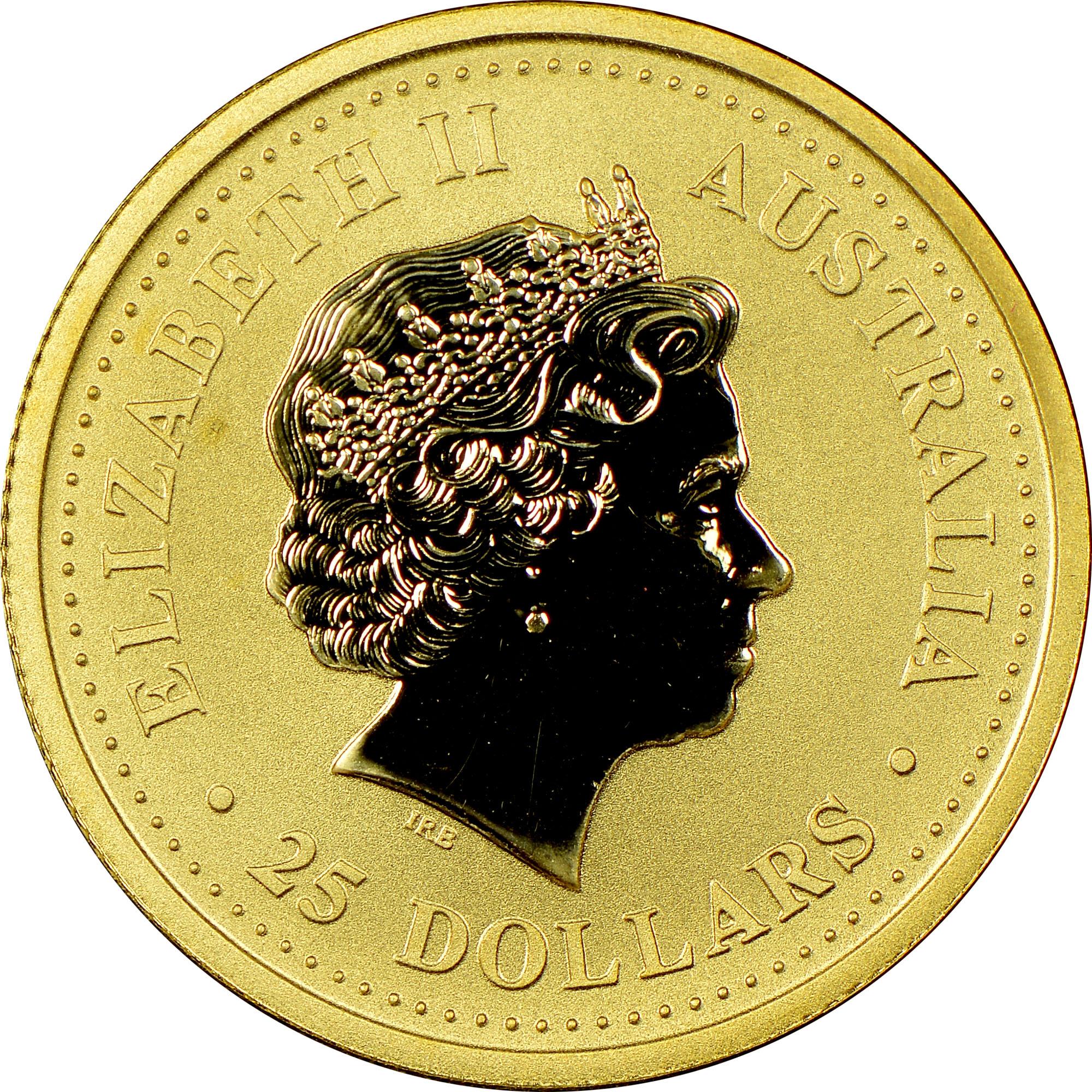 2002 Australia 25 Dollars obverse