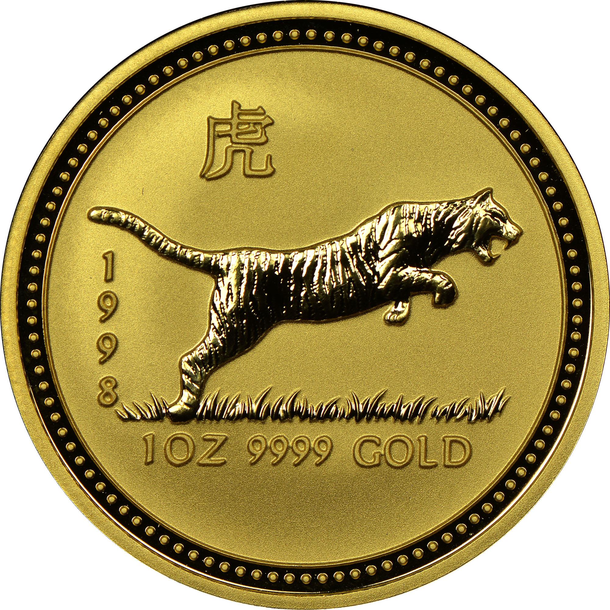 1998 Australia 100 Dollars reverse