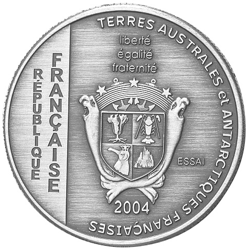 French Southern & Antarctic Territories 1-1/2 Euro obverse