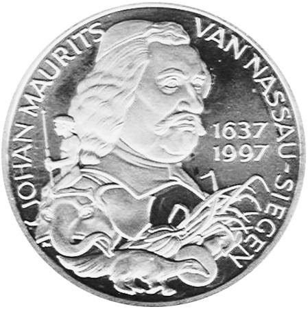 Netherlands 10 ECU reverse