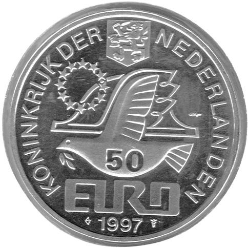 Netherlands 50 Euro obverse