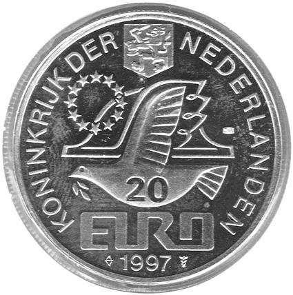 Netherlands 20 Euro obverse