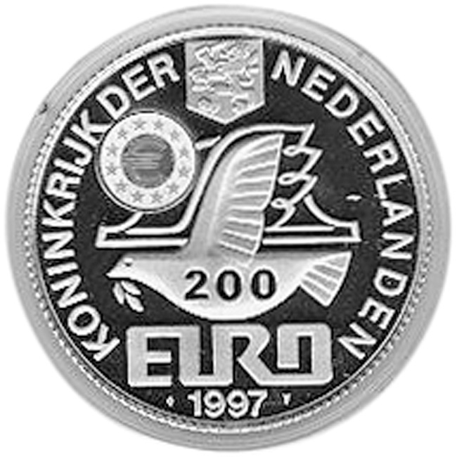 Netherlands 200 Euro obverse