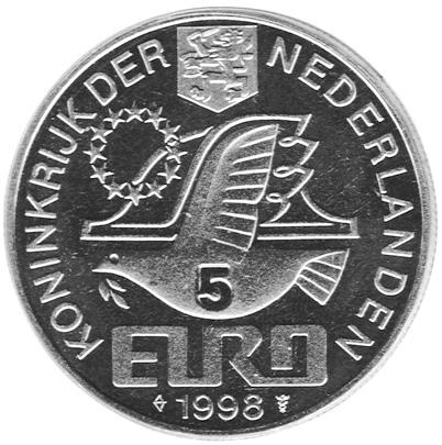 Netherlands 5 Euro obverse