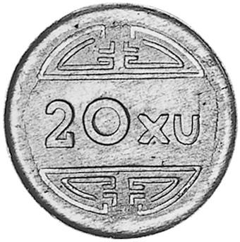 Viet Nam 20 Xu reverse