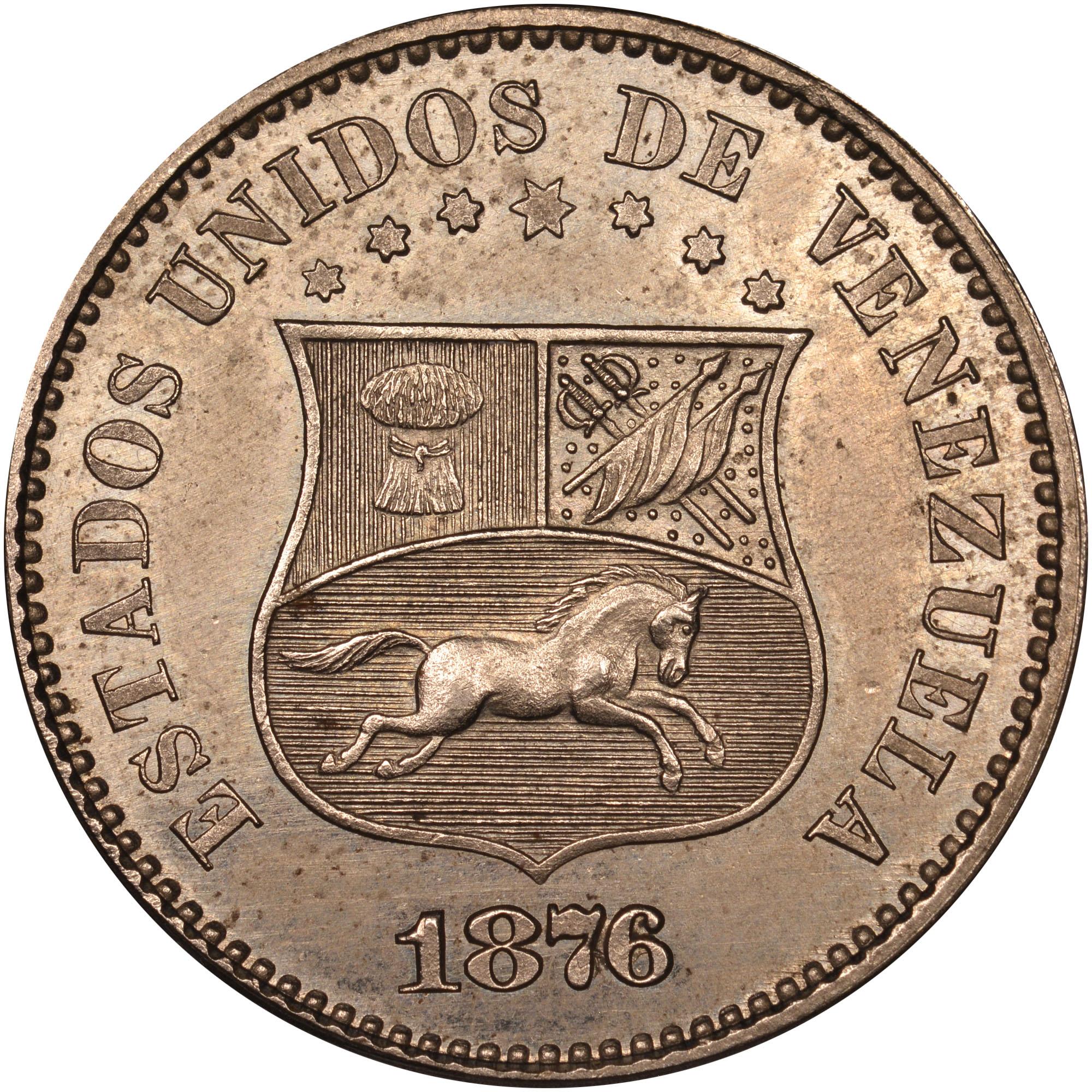 Venezuela 2-1/2 Centavos obverse