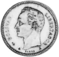 Venezuela 10 Centavos reverse