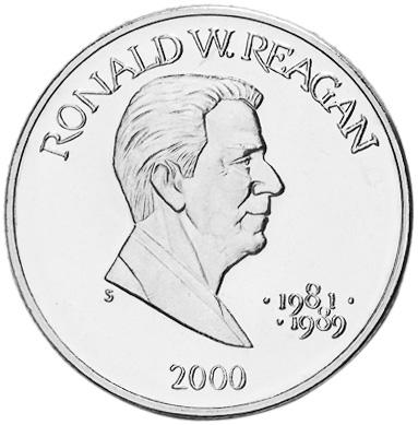 Liberia 5 Dollars reverse
