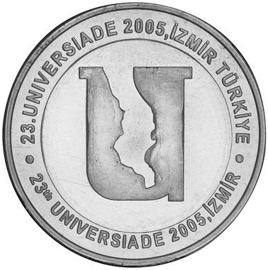 Turkey 5 New Lira reverse