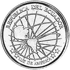 Ecuador Centavo obverse