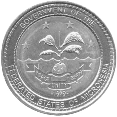 Micronesia FEDERATED STATES Dollar reverse
