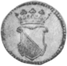 Netherlands East Indies 1/2 Duit obverse