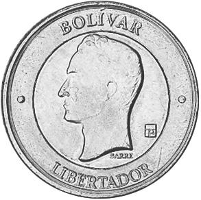 Venezuela 1000 Bolivares obverse