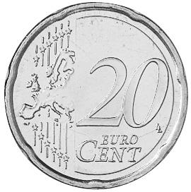 Slovenia 20 Euro Cent reverse