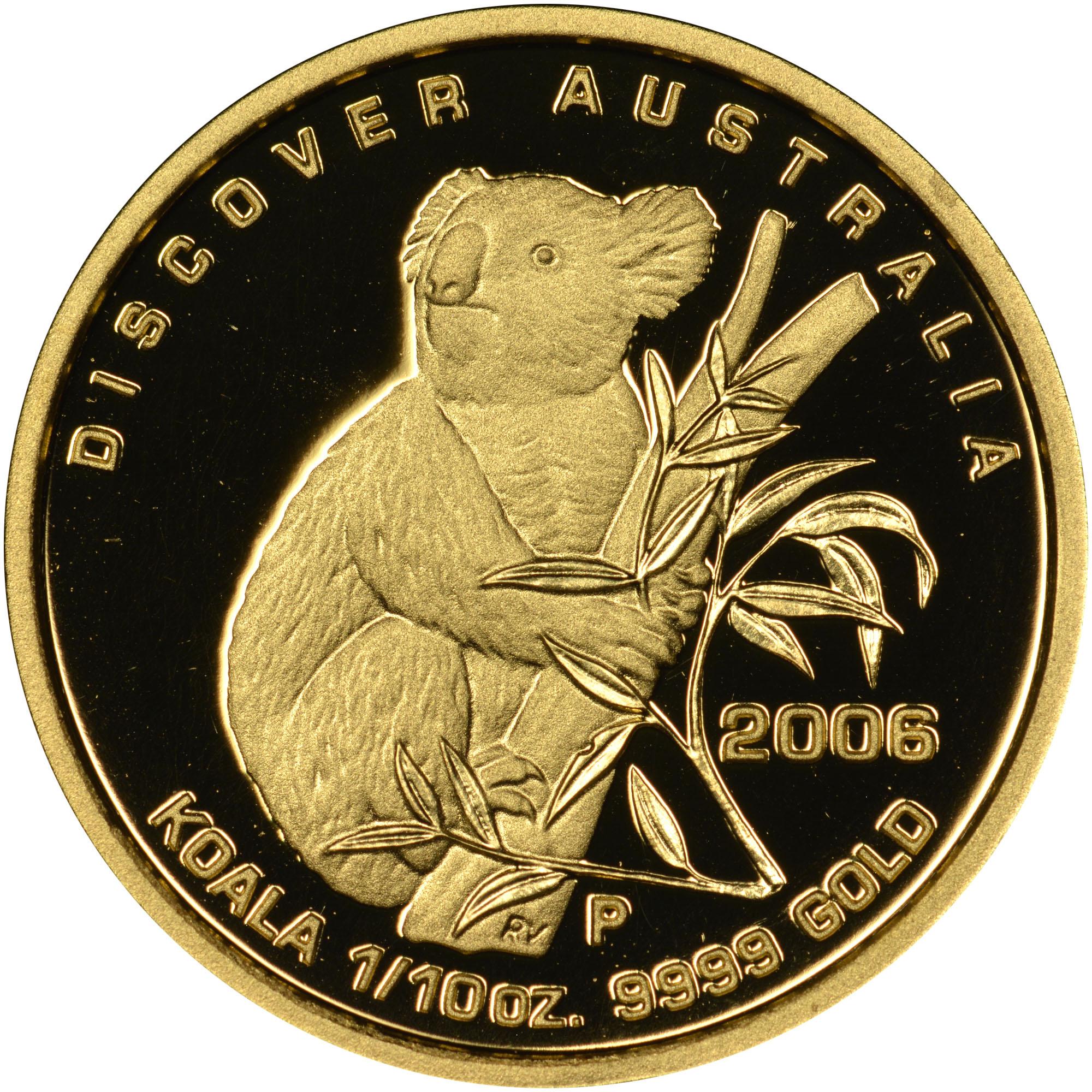 2006 Australia 15 Dollars reverse