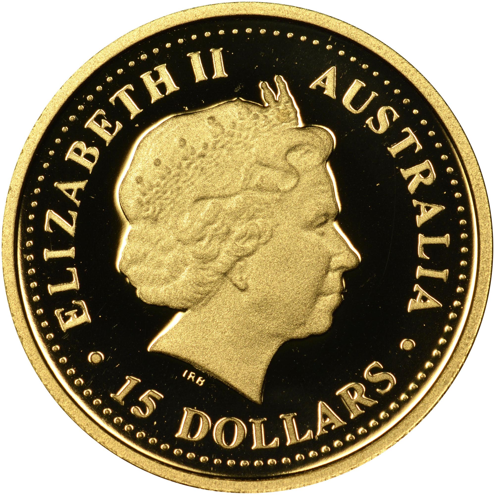 2006 Australia 15 Dollars obverse