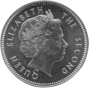 Falkland Islands 2 Pence obverse