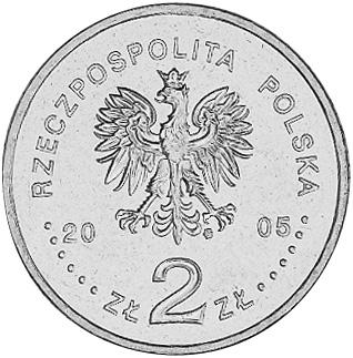 Poland 2 ZÅ'ote obverse