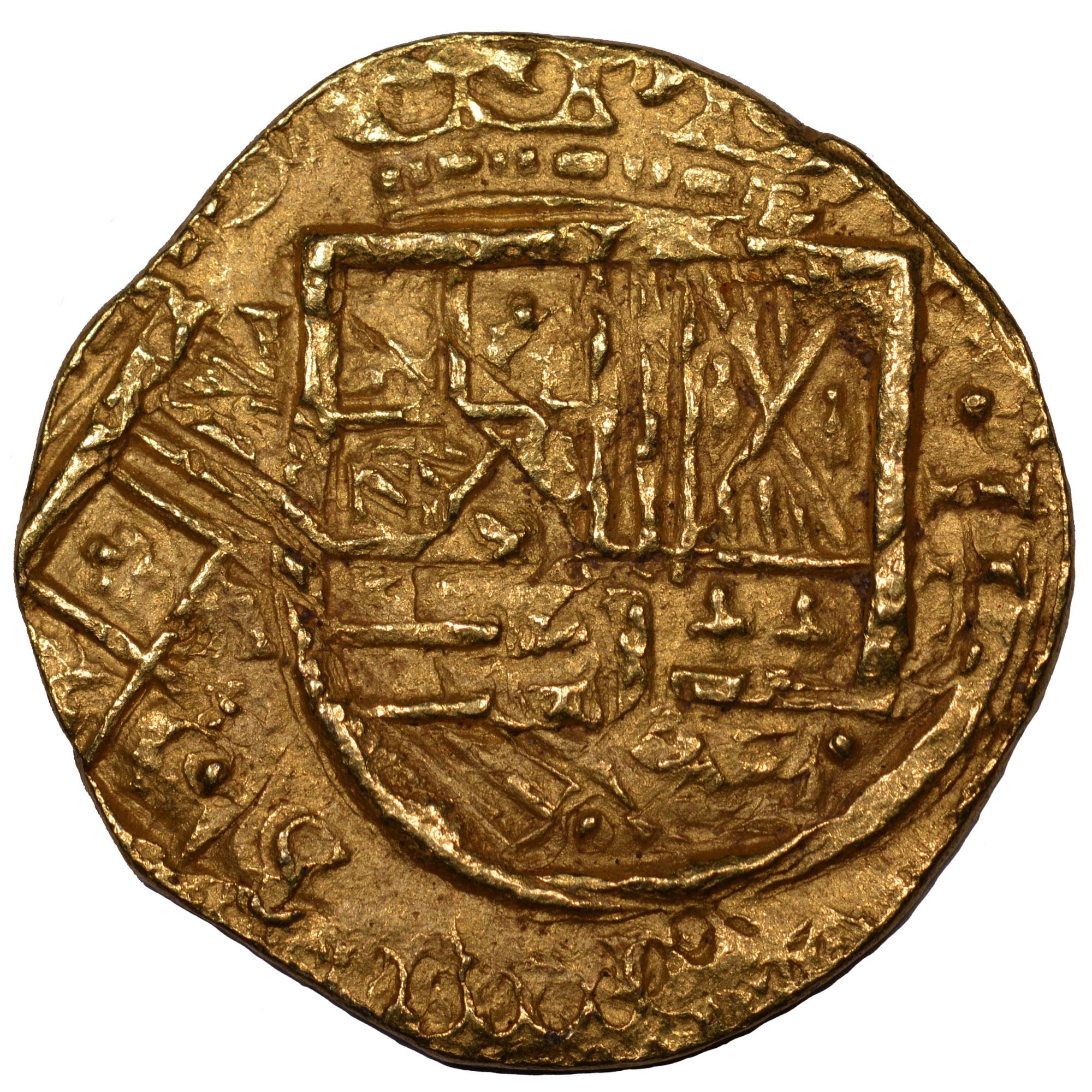 (1627-29)-1665 Colombia 2 Escudos obverse