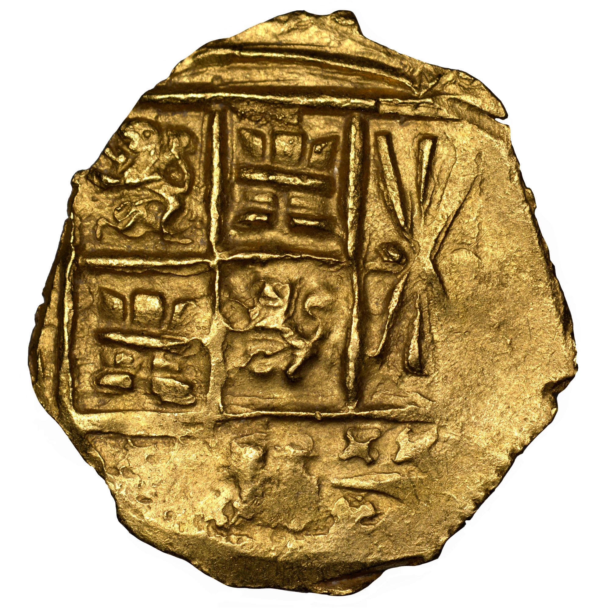 (1694-1713)-1713 Colombia 2 Escudos reverse