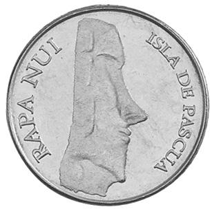 Rapa Nui - Isla De Pascua - Easter Island 50 Pesos obverse