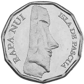Rapa Nui - Isla De Pascua - Easter Island 100 Pesos obverse
