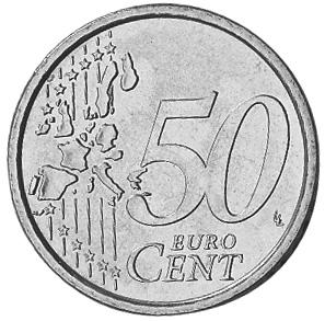 Vatican City 50 Euro Cent reverse