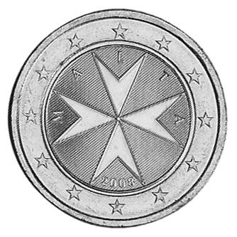 Malta 2 Euro obverse