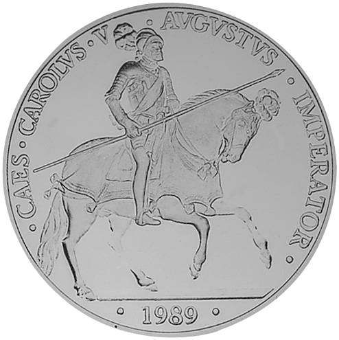 1989 Spain 5 ECU reverse