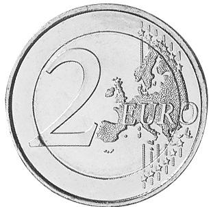 France 2 Euro reverse