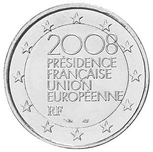 France 2 Euro obverse