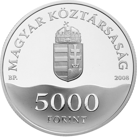 Hungary 5000 Forint obverse