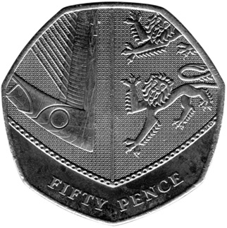 Great Britain 50 Pence reverse