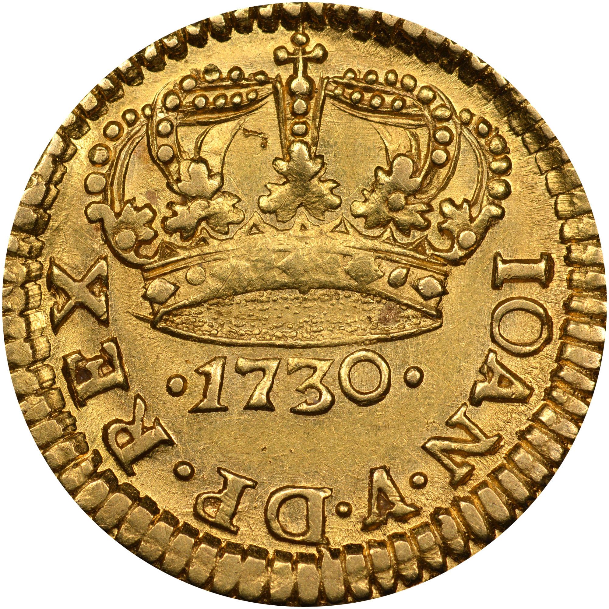 1730-1734 Brazil 400 Reis reverse