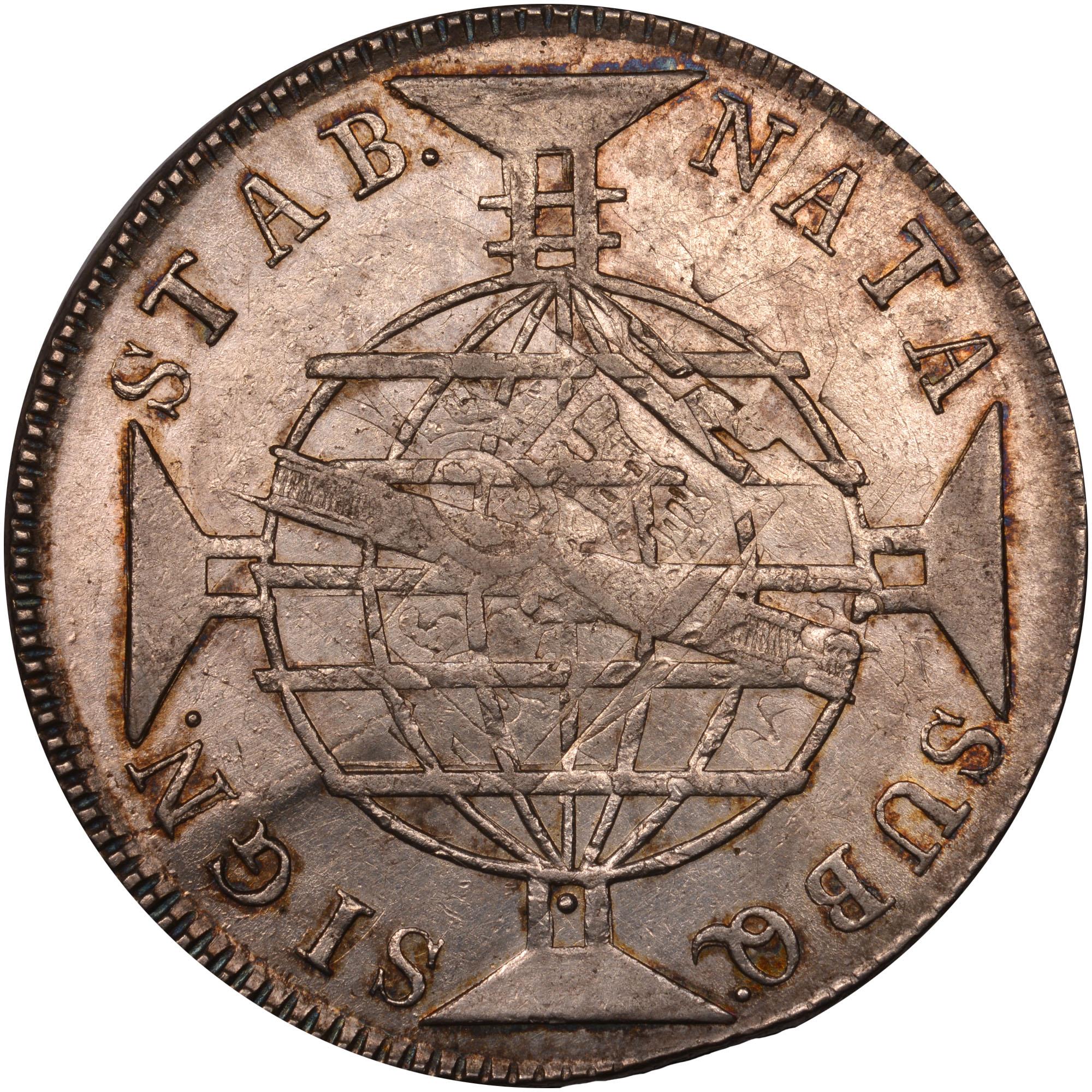 1810-1818 Brazil 960 Reis reverse