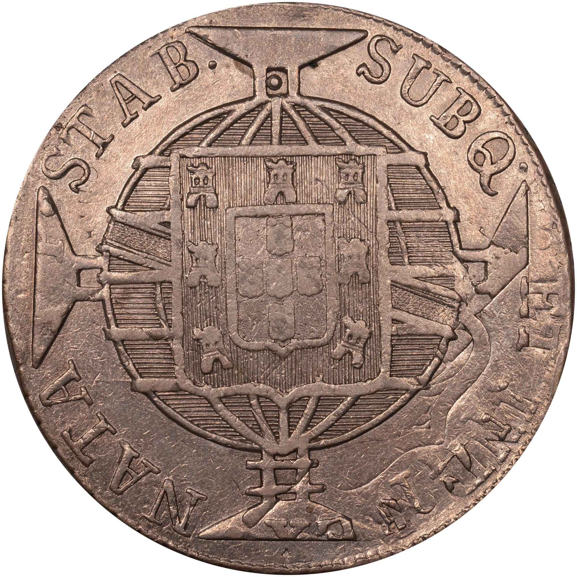 1818-1822 Brazil 960 Reis reverse