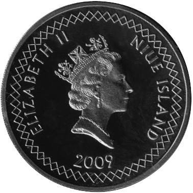 Niue Dollar obverse