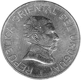 Uruguay 2 Pesos Uruguayos obverse