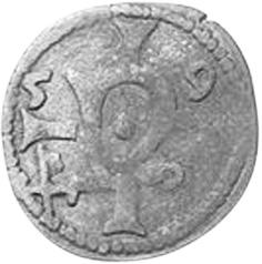 German States NORTHEIM 3 Pfennig, Dreier obverse