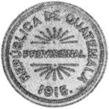 Guatemala 12-1/2 Centavos obverse