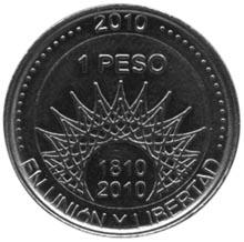 Argentina Peso obverse