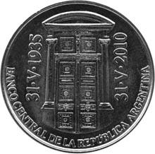 Argentina 2 Pesos obverse