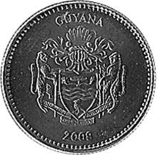 Guyana Dollar reverse
