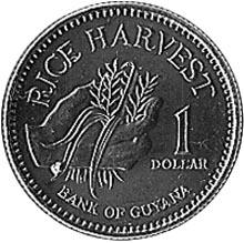 Guyana Dollar obverse
