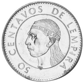 Honduras 50 Centavos 1995 1994 FAO UNC Lemberg-Zp