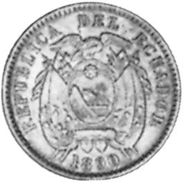 Ecuador 1/2 Centavo obverse